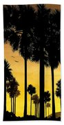 San Diego Sunset Beach Towel