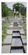 Sarah Lee Baker Perennial Garden 3 Beach Towel