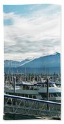 Seward Alaska Beach Towel