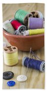 Sewing Supplies Beach Towel