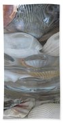 Shells In Bubble Bowl 2 Beach Towel