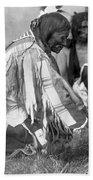 Sioux Medicine Man, C1907 Beach Towel