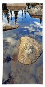 Sky Reflections Beach Sheet
