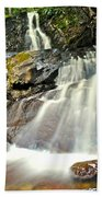 Smoky Mountain Falls Beach Towel
