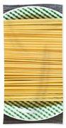 Spaghetti  Beach Towel