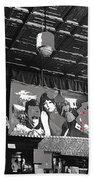 Spirit Room Bar Connor Hotel Jerome Arizona 1971-2013 Beach Towel