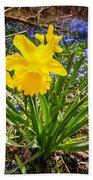 Spring Wildflowers Beach Sheet