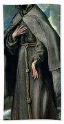 St Francis Of Assisi Beach Towel