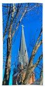 St. Marys Church Steeple Of St Marys Church Beach Towel