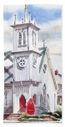 St Pauls Episcopal Church  Beach Towel
