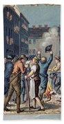 Stamp Act Riot, 1765 Beach Towel