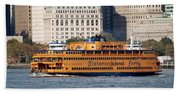 Staten Island Ferry Beach Towel