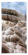 Steamy Mammoth Hot Springs Beach Towel