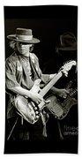 Stevie Ray Vaughan 1984 Beach Towel