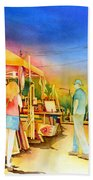 Street Art Fair Beach Towel
