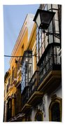 Streets Of Seville Beach Towel