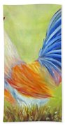 Strutting My Stuff, Rooster Beach Towel