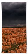 Summer Thunderstorm Bryce Canyon National Park Utah Beach Towel