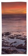 Sunset In Marbella Beach Towel