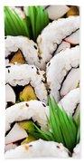 Sushi Platter Beach Towel