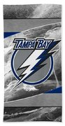 Tampa Bay Lightning Beach Towel