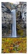 Taughannock Falls Beach Towel