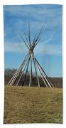 Tee Pee Beach Towel