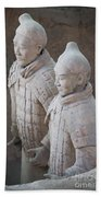 Terracotta Warriors, China Beach Towel