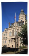 Terre Haute Indiana - Courthouse Beach Towel