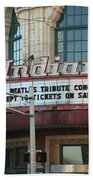 Terre Haute - Indiana Theater Beach Towel