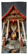 Thai Temple Beach Towel