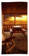 The Cabin Beach Towel