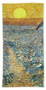 The Sower Beach Towel