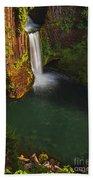 Toketee Falls - Oregon Beach Towel