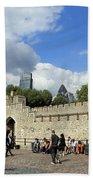 Tower Of London Beach Towel
