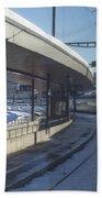 Train Station Beach Towel