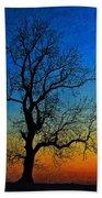 Tree Skeleton Beach Towel