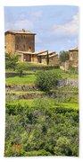 Tuscany - Montalcino Beach Towel