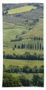 Tuscany - Val D'orcia Beach Towel