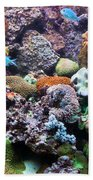 Underwater View Beach Towel