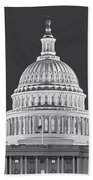Us Capitol Dome Beach Towel