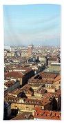 View Of Turin Beach Towel