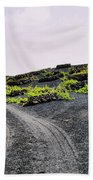 Vineyard On Lanzarote Beach Towel