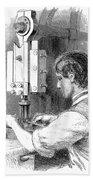 Watchmaker, 1869 Beach Towel