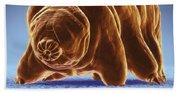 Water Bear Tardigrades Beach Towel