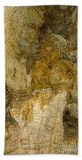 Longhorn Caverns Water Creation Beach Towel