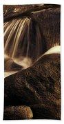 Water Flow Beach Towel