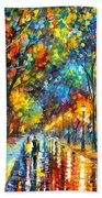 When Dreams Come True Beach Towel by Leonid Afremov