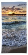 Whipped Cream Beach Towel