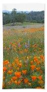Wildflower Wonderland 10 Beach Towel